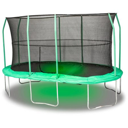 JumpKing Oval 9 x 14 Foot Trampoline, with Sound and Light ...