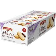 Pepperidge Farm Milano Dark Chocolate Cookies, 7.5 oz. Multi-pack Tray, 10-count 0.75 oz. 2-packs