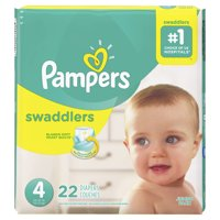 Pampers Swaddlers Diapers Size 4 22 Count