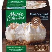 Marie Callender's Frozen Mini Pie Dessert, 2 Mini Coconut Cream Pies, 7.5 Ounce