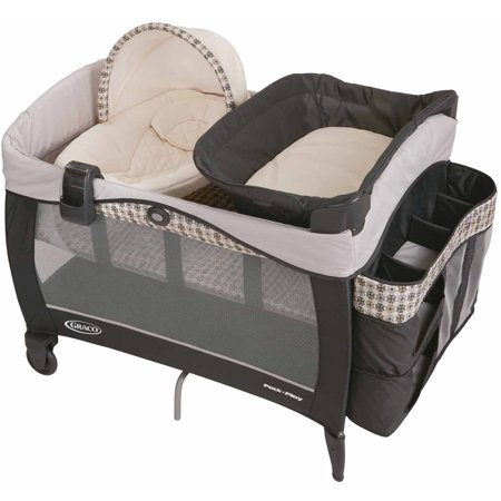 Graco Pack 'n Play Newborn Napper LX Playard, - Newborn Napper Station