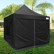 Upgraded Quictent 8x8 Ez Pop Up Canopy Tent Instant Folding Party With Sides And Wheeled