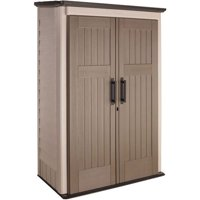 Rubbermaid 52 cu. Ft Vertical Shed, Beige