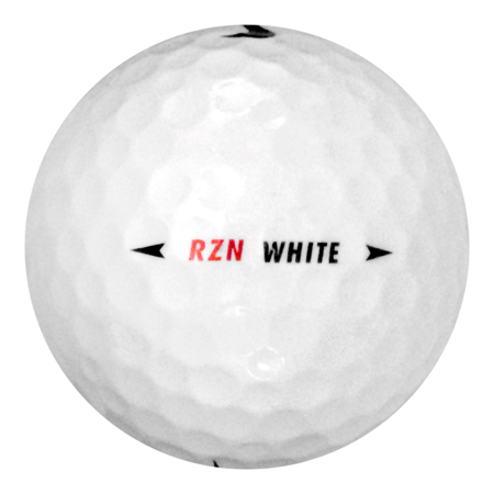 Nike RZN White - Near Mint (AAAA) Grade - Recycled (Used) Golf Balls - 24 Pack