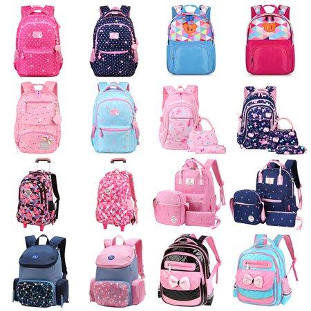 Kids Bakpack-Fitbest Kids Pre-School Backpack Girls Boys Kindergarten School Bag Toddler Shouler Bags (School Gitl)
