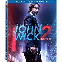 John Wick: Chapter 2 (Blu-ray + DVD + Digital HD)