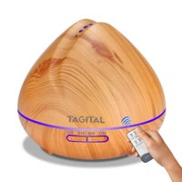 Tagital 550ml Ultrasonic Essential Oil Aroma Diffuser Humidifier Air Aromatherapy Purifier