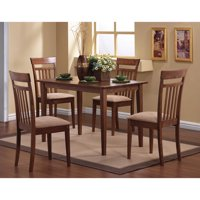 Coaster Company Oakdale Nutmeg 5pc Dinette Set