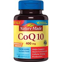 Nature Made CoQ10 400mg Softgels Value Size, 45ct