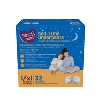 Parent's Choice Bed-Time Pull Up Underpants, L/XL, 32 Count