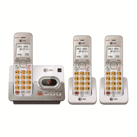 - AT&T EL52303 3-Handset Answering System With Caller ID & Call Waiting