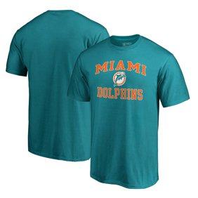 1e21b1ce20 Miami Dolphins NFL Pro Line by Fanatics Branded Vintage Victory Arch  T-Shirt - Aqua