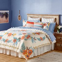 The Pioneer Woman Floral Medallion Duvet Cover, Ivory