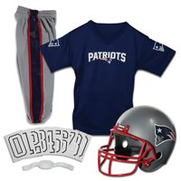 Franklin Sports NFL New England Patriots Youth Licensed Deluxe Uniform Set, Medium