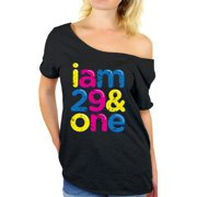Awkward Styles Thirty Shirts I Am 29 One Off The Shoulder T Shirt Tops Thirtieth