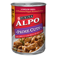 Purina ALPO Prime Cuts London Grill Adult Wet Dog Food - 13.2 oz. Can