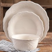 The Pioneer Woman Lace 12-Piece Dinnerware Set, Walmart Exclusive