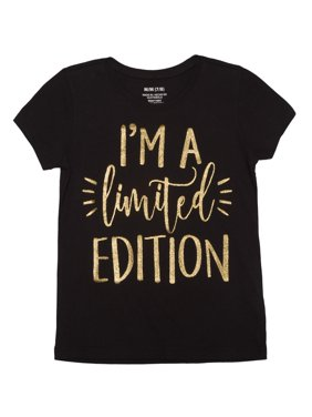 """Girls' """"I'm a Limited Edition"""" Graphic T-Shirt"""