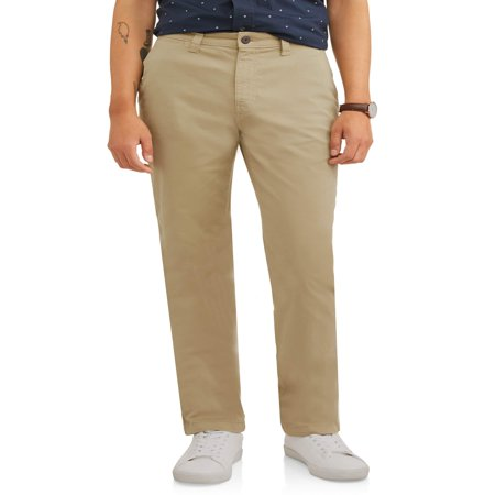 Men's Slim Straight Chino - Casual Slim Straight Pants