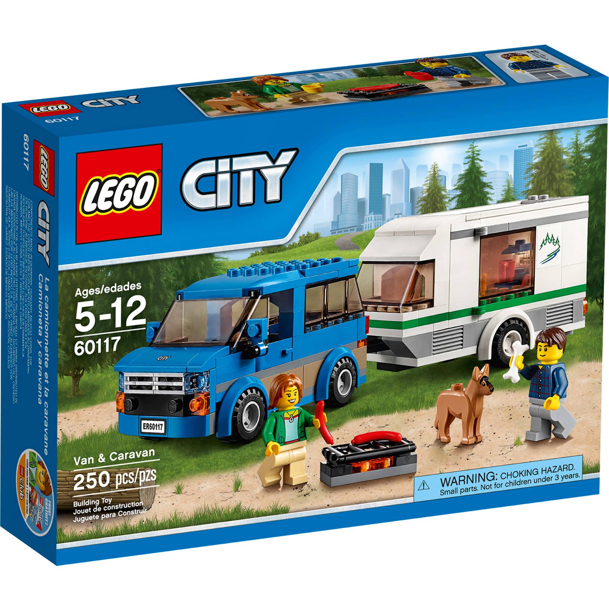 LEGO City Van & Carava...