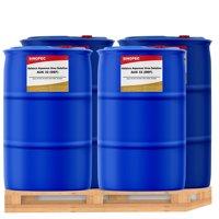 Sinopec DEF Fluid 55 Gallon Drum - Diesel Exhaust Fluid (4 Pack Super Value)