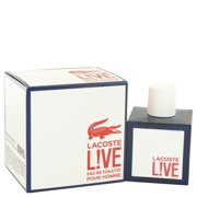 176882f4 Lacoste Lacoste Live Eau De Toilette Spray for Men 3.4 oz