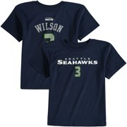 Russell Wilson Seattle Seahawks Preschool Primary Gear Name   Number T-Shirt  - Navy 9bcc81e0f