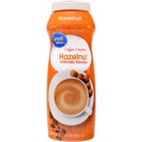 (6 Pack) Great Value Coffee Creamer, Hazelnut, 20 oz