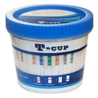 (Case of 5) 12 Panel Drug Test Cup (OPTION A) Amp/Bar/Bup/Bzo/Coc/MDMA/Mtd/Opi/Oxy/Pcp/Tca/Thc