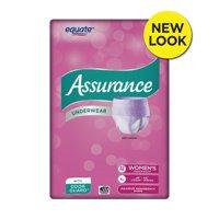 Assurance Underwear, Women's, Size XL, 32 Count