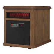 Duraflame Portable Electric Infrared Quartz Heater, Oak