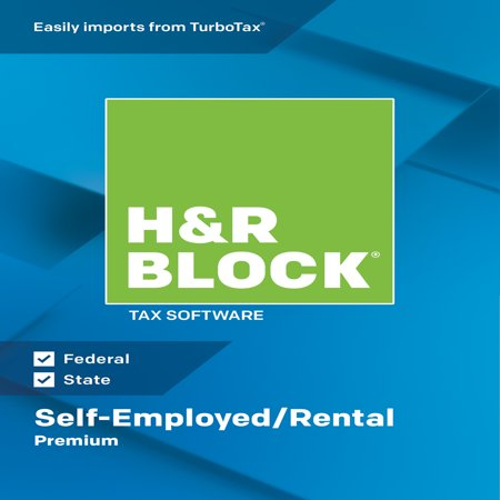 H&R Block Tax Software 2018 Premium Mac (Email Delivery)