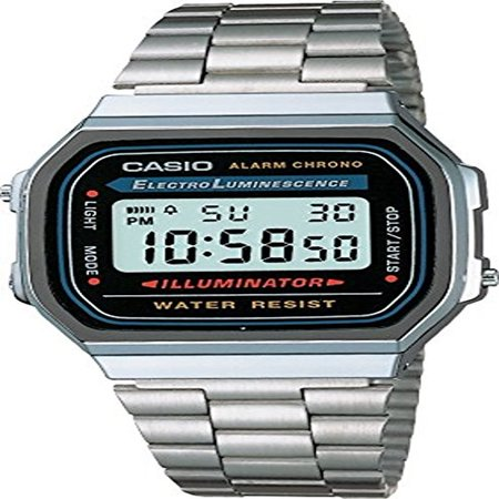 Casio Men's Classic Digital Illuminator Watch A168WA-1