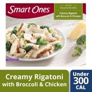 Smart Ones Savory Italian Recipes Creamy Rigatoni Broccoli & Chicken 9 oz Box