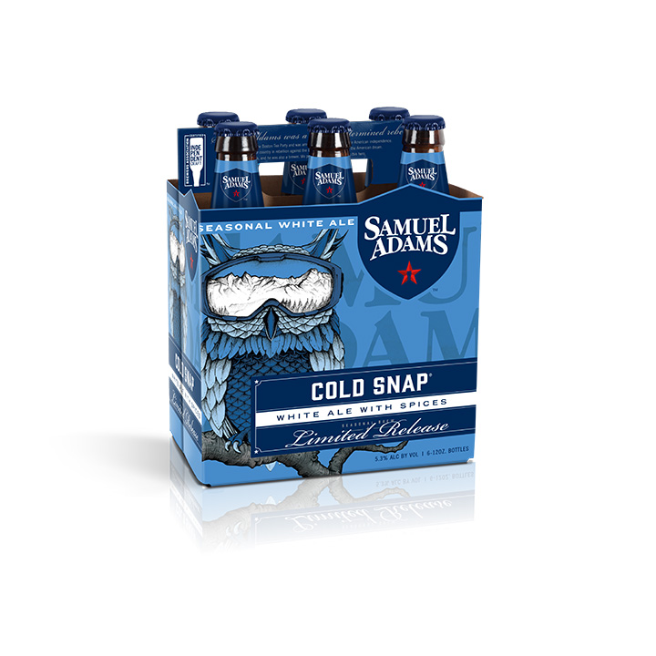 Samuel Adams Cold Snap Seasonal, 12 fl oz, 6 pack bottles