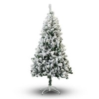 The Holiday Aisle PVC Snow Flocked Pine Artificial Christmas Tree