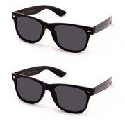 95457df8fa64 V.W.E. Classic Outdoor Reading Sunglasses - Comfortable Stylish Simple  Readers Rx Magnification