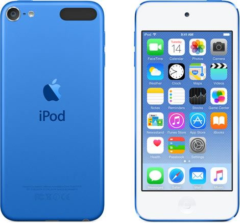 Apple iPod Touch 6th Generation 16GB Blue -Very Good Condition, in Apple Retail