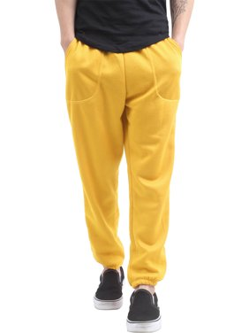 Men's Elastic Bottom Sweatpants with Pocket
