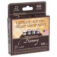 Benjamin .22 Caliber Pellet Hunting Assortment 400ct, 22BHPA
