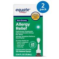 Equate Non-Drowsy Allergy Relief Nasal Spray, 50 mcg, 0.54 Oz
