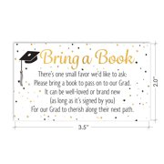 Graduation Party Invitation Inserts Books For Grad Request Cards 25 Count