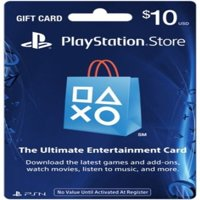 Sony Playstation Network Card: $10 Gift Card