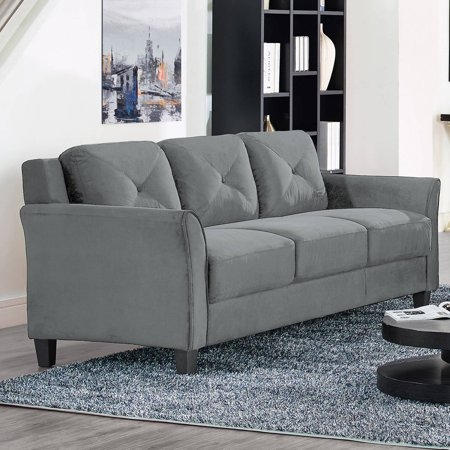 Lifestyle Solutions Ireland Sofa in Dark Grey Fabric