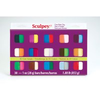 Sculpey Polymer Clay Sampler