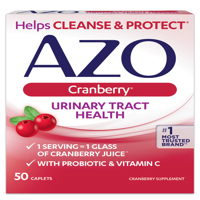 AZO Cranberry Urinary Tract Health Caplets, 50 Ct