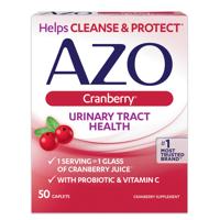 AZO Cranberry Urinary Tract Health Caplets, 50 Ct
