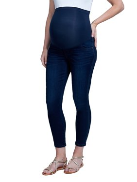 Maternity Over the Belly Slimmaker Ankle Skinny Jean