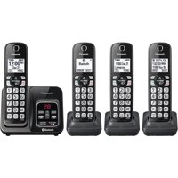 Panasonic Link2Cell Bluetooth Cordless Phone with Voice Assist and Answering Machine