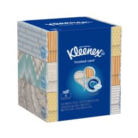 Kleenex Everyday, Non-Lotion, 160 Facial Tissues per Box, 6 Flat Boxes
